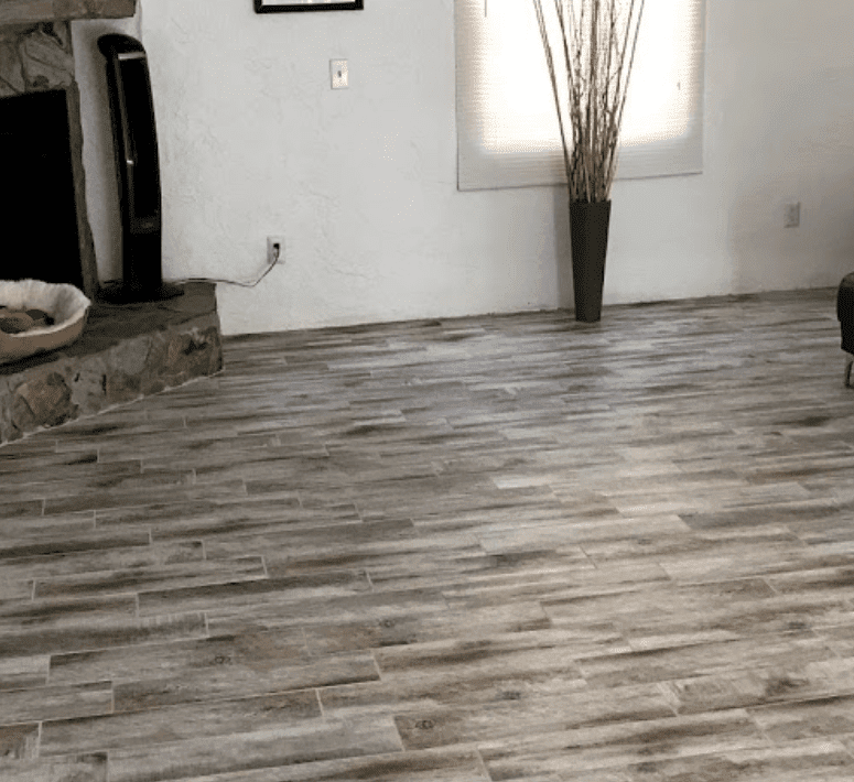 Gray tone wood look flooring in Apollo Beach, FL from Brandon Tile & Carpet
