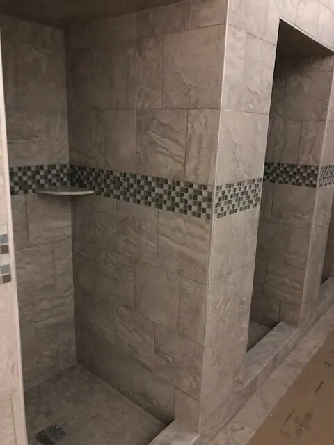 Commercial shower tiles from Gaydos Flooring in Reading, PA