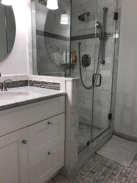 Bathroom tiles from Gaydos Flooring in Reading, PA