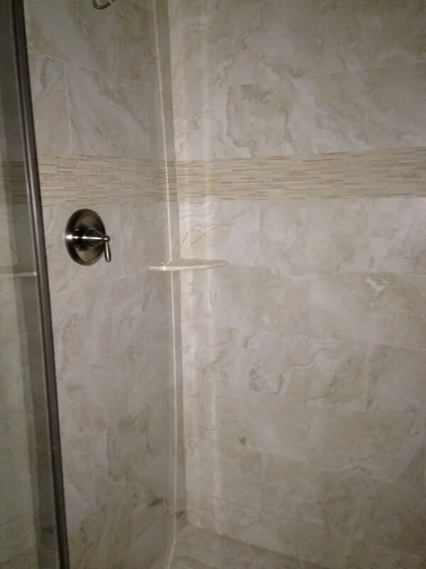 Shower tiles from Gaydos Flooring in Reading, PA