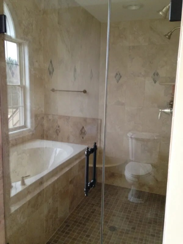 Shower tiles from Gaydos Flooring in Elverson, PA