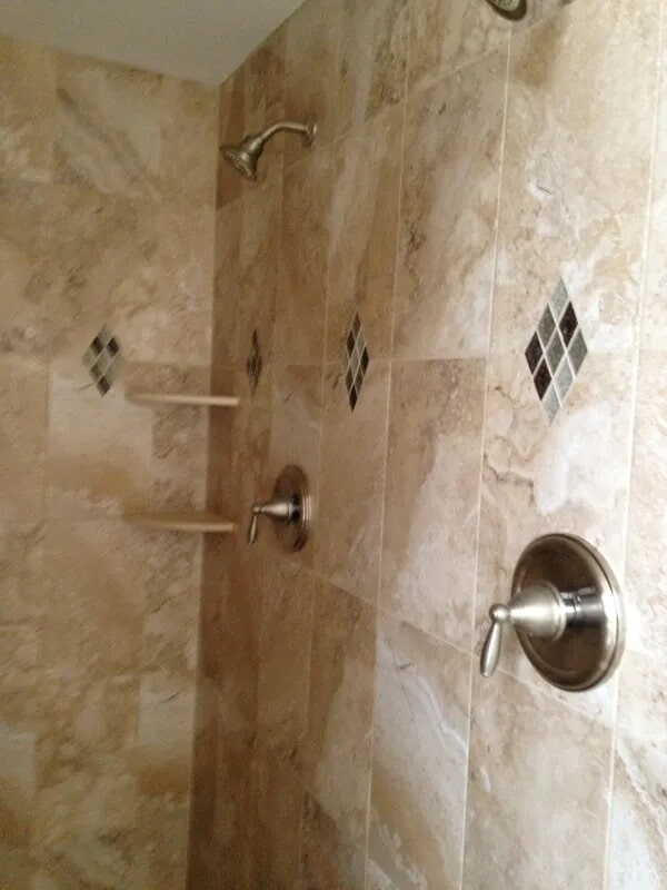 Shower tiles from Gaydos Flooring in Downingtown, PA