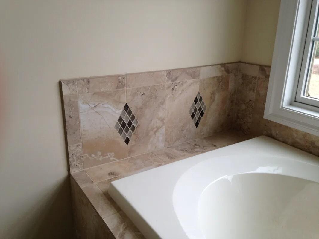 Bath tiles from Gaydos Flooring in Exton, PA