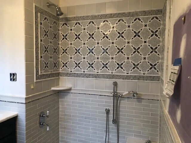 Mosaic tiles from Gaydos Flooring in Reading, PA