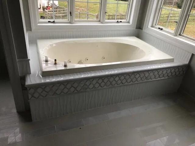 Bathroom tile from Gaydos Flooring in Reading, PA