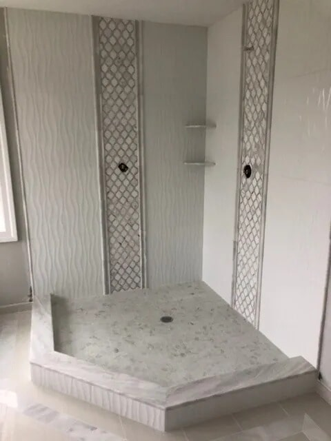 Bathroom tile from Gaydos Flooring in Elverson, PA