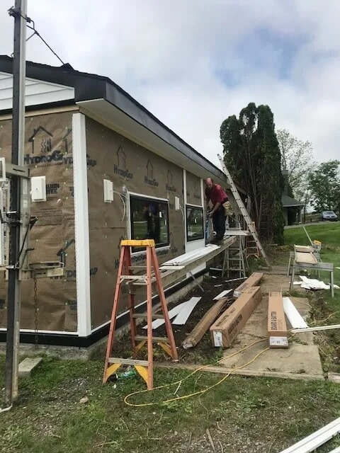 Siding installationfrom Gaydos Flooring in West Chester, PA
