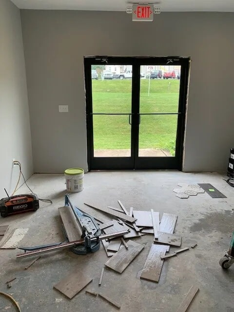 Flooring installation from Gaydos Flooring in West Chester, PA