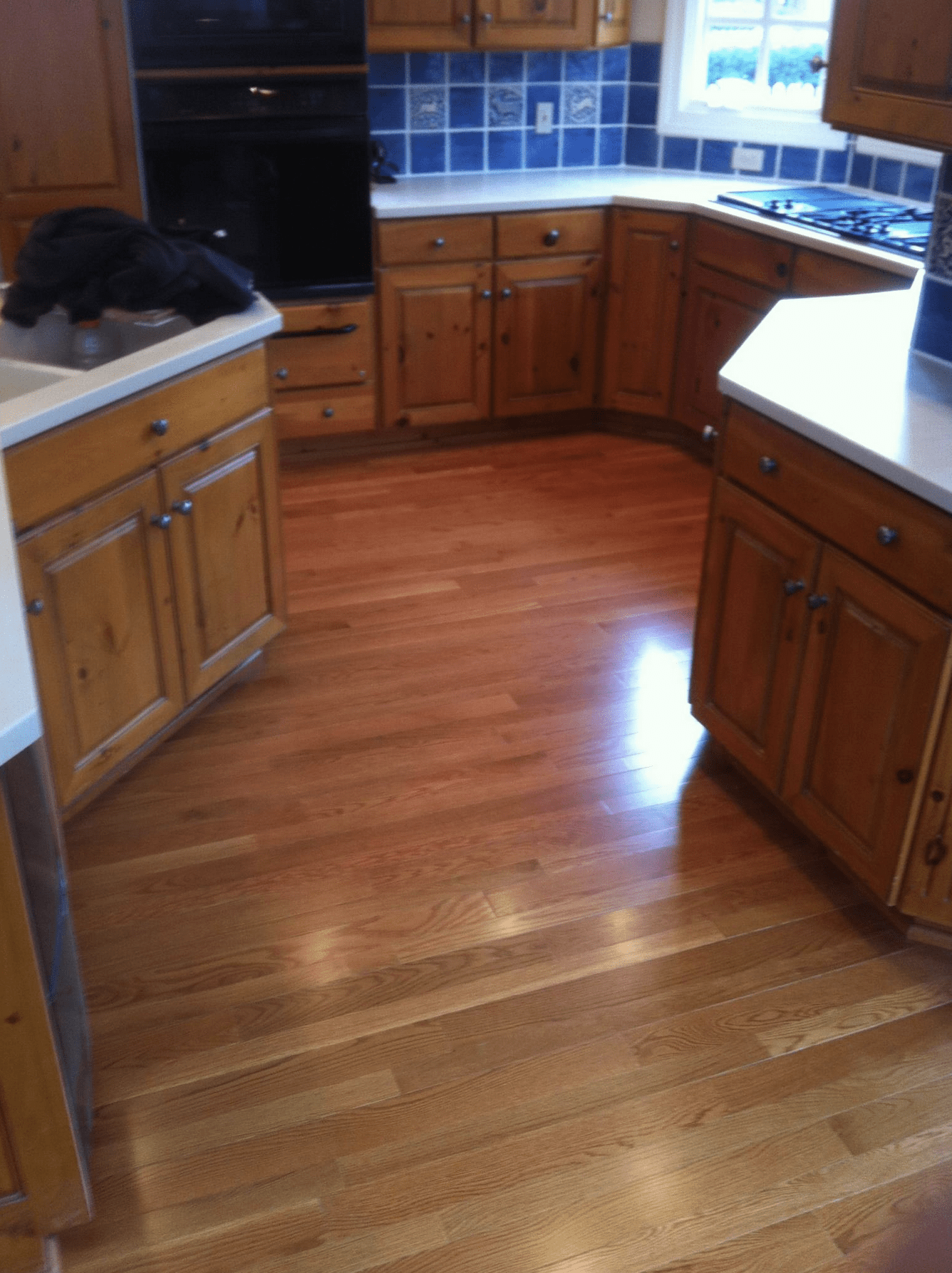 Kitchen hardwood flooring in Lyndon, KY from Unique Flooring Solutions