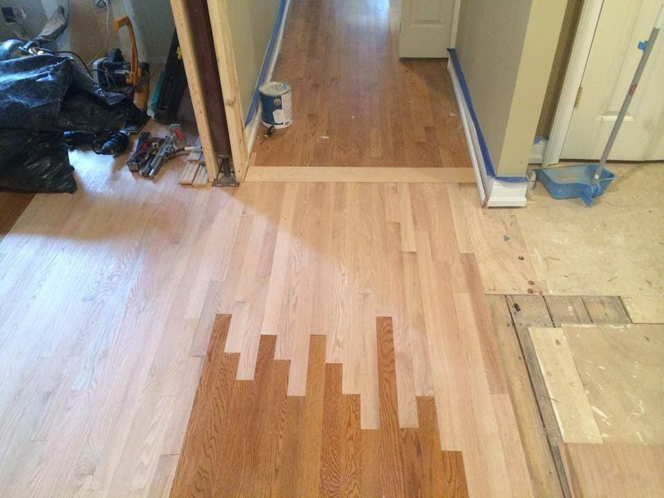 Hardwood flooring repair in Jeffersontown, KY from Unique Flooring Solutions