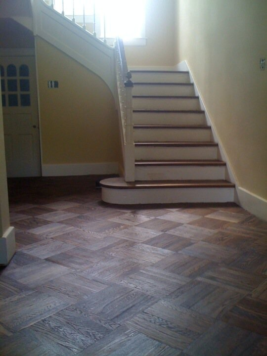 Beautiful patterned hardwood flooring in Prospect, KY from Unique Flooring Solutions