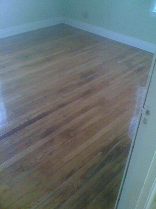 Natural medium tone wood flooring in Jeffersontown, KY from Unique Flooring Solutions