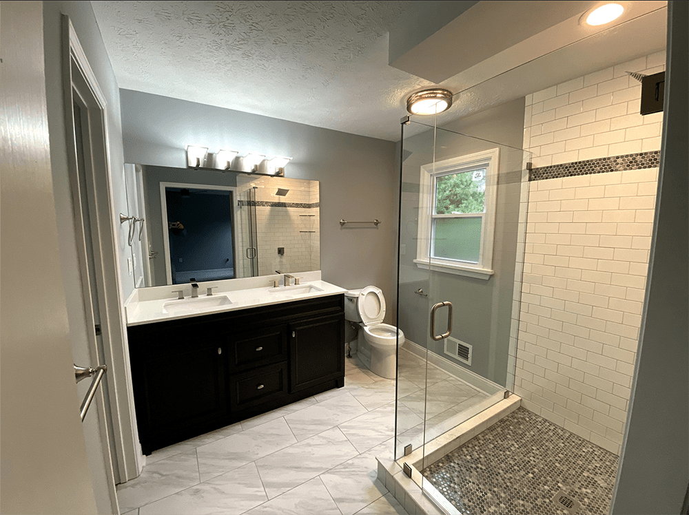 Bathroom renovation in Prospect, KY from Unique Flooring Solutions