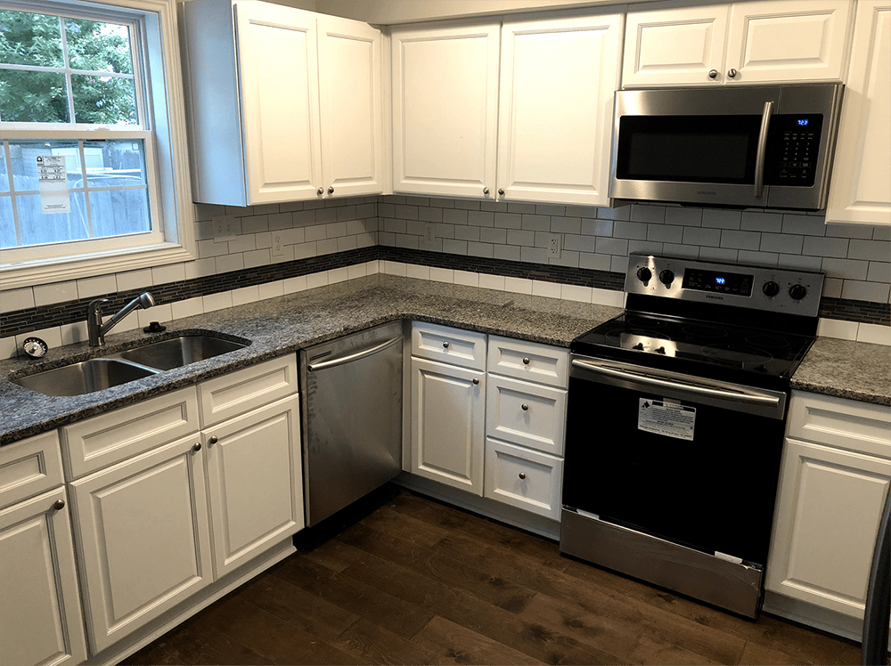 Kitchen renovation in Goshen, KY from Unique Flooring Solutions