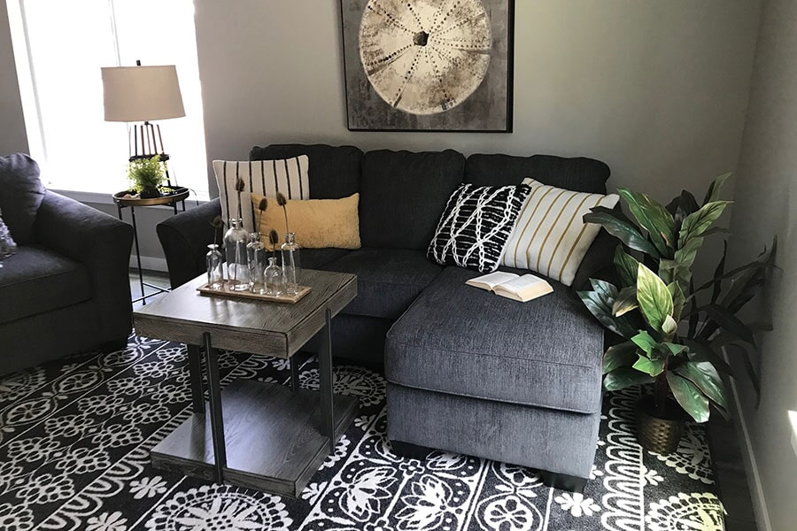 Area rug from Flooring Connections in Arlington, WA