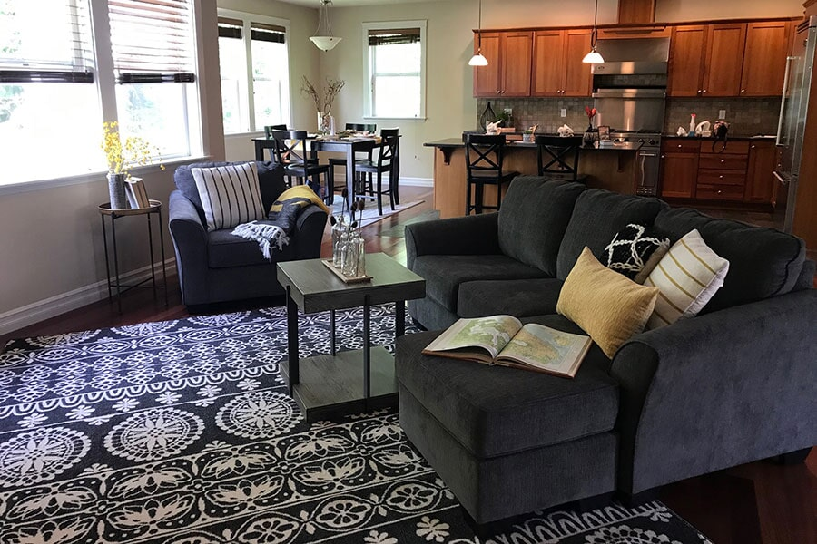 Area rug from Flooring Connections in Mount Vernon, WA