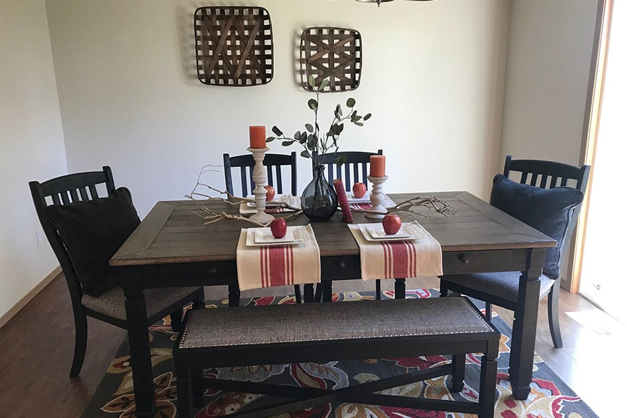 Staging from Flooring Connections in Oak Harbor, WA