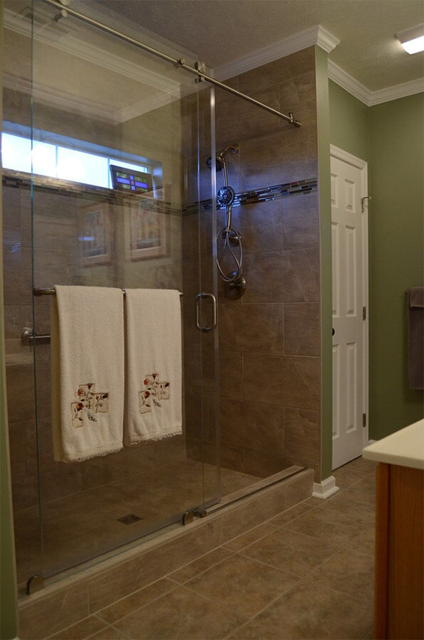 tile shower surround and flooring (2)
