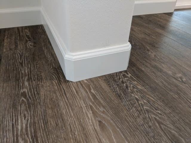 Beautiful wood flooring and trim in San Bernardino County from Hailo Flooring