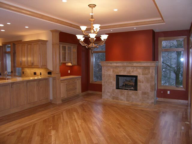 american cherry hardwood from Schmidt Custom Floors in Estes Park, CO