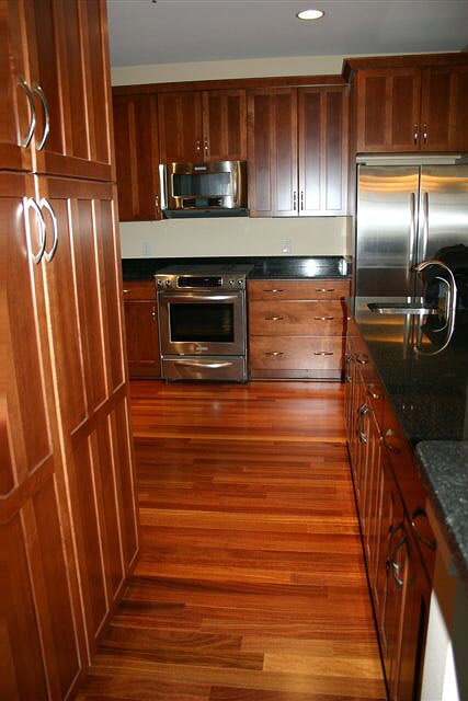 brazilian teak hardwood from Schmidt Custom Floors in Loveland, CO