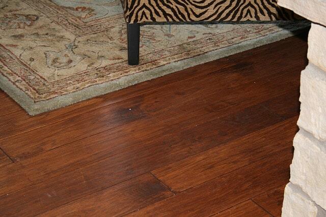 Custom handscraped hickory from Schmidt Custom Floors in Windsor, CO