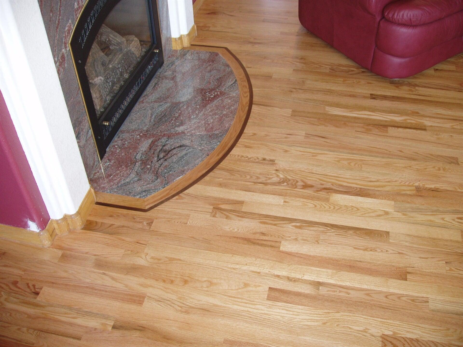 Hardwood flooring at Schmidt Custom Floors in Estes Park, CO