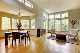 Oak Dining Room at Schmidt Custom Floors in Loveland, CO