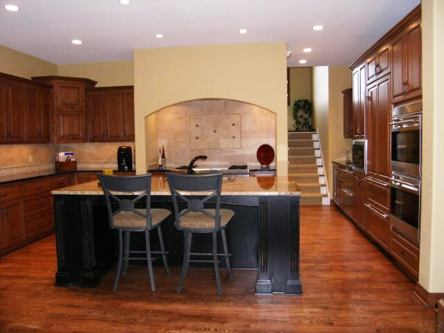 Oak stained hardwood at Schmidt Custom Floors in Boulder, CO