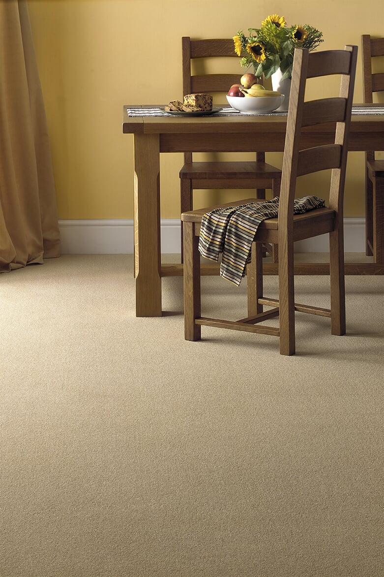 Carpeted Dining Room at Schmidt Custom Floors in Loveland, CO