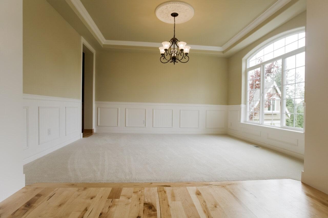Open Carpeted Room at Schmidt Custom Floors in Fort Collins, CO