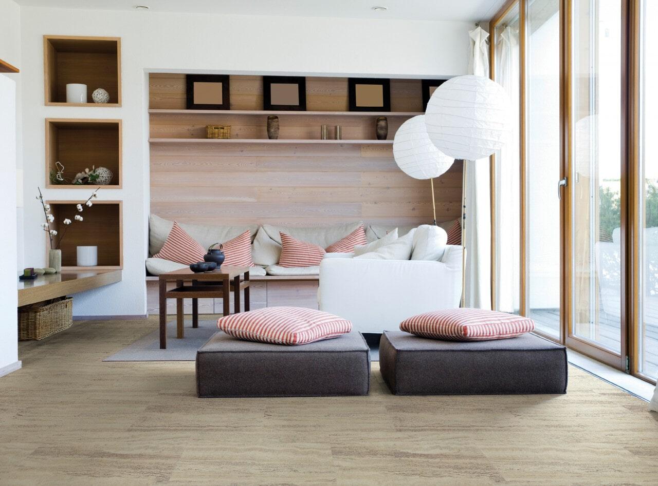 Cork flooring from Schmidt Custom Floors in Loveland, CO