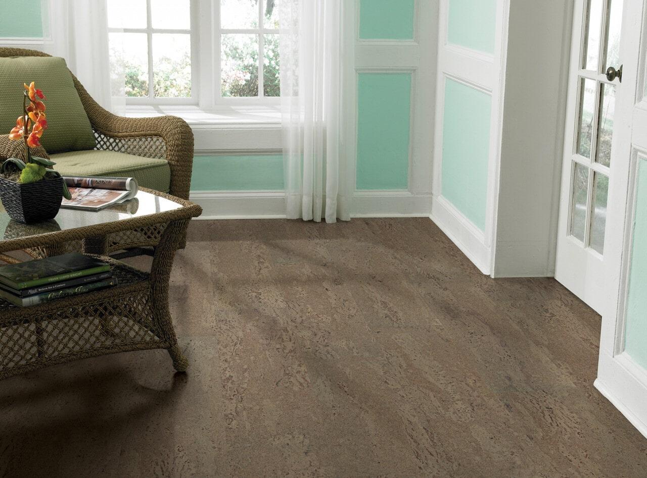 Cork flooring from Schmidt Custom Floors in Boulder, CO