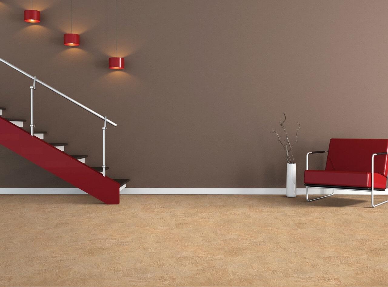 Cork flooring from Schmidt Custom Floors in Windsor, CO
