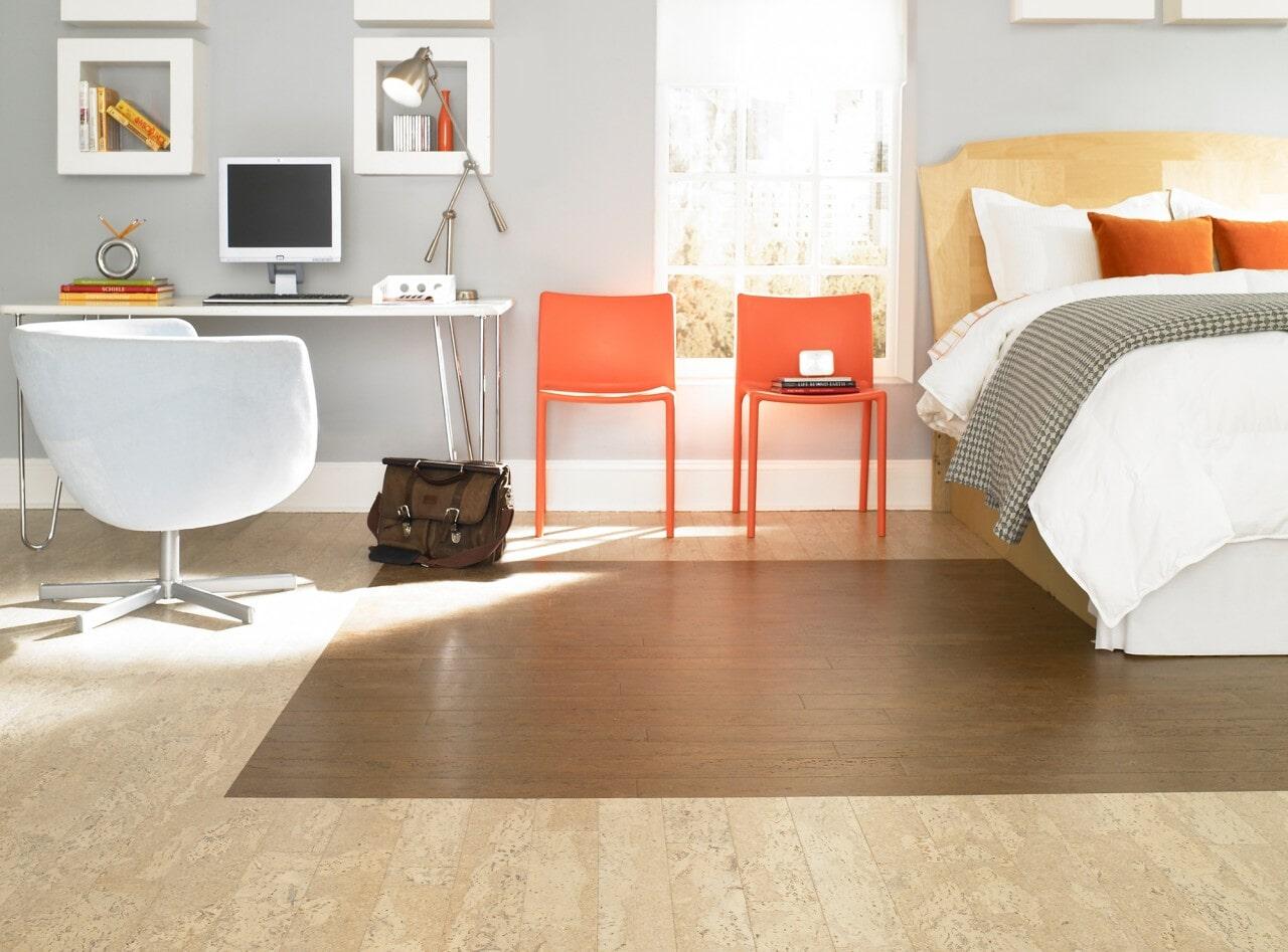 Cork flooring from Schmidt Custom Floors in Fort Collins, CO