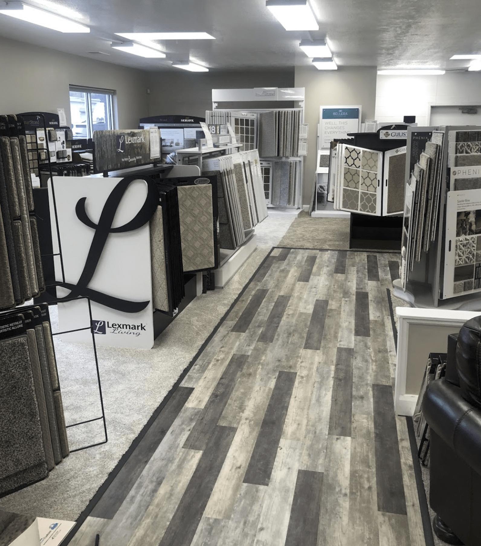 Americarpets showroom in Clearfield, UT