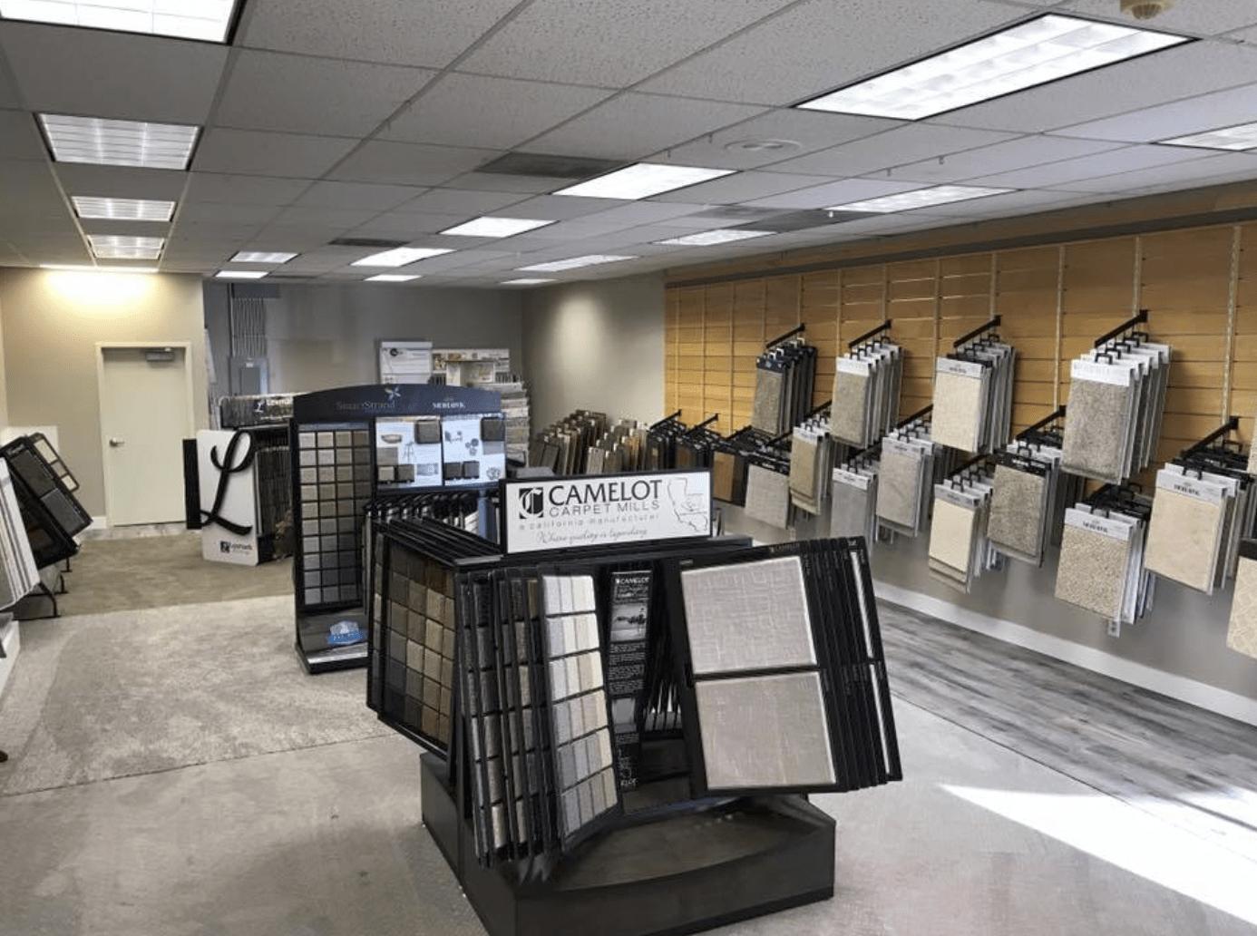 Americarpets showroom in Layton, UT