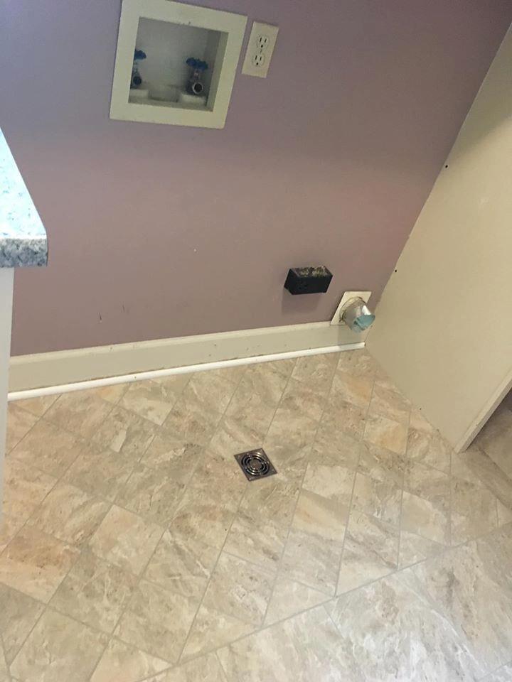 Tile installation by Richie Ballance Flooring & Tile in Wilson NC