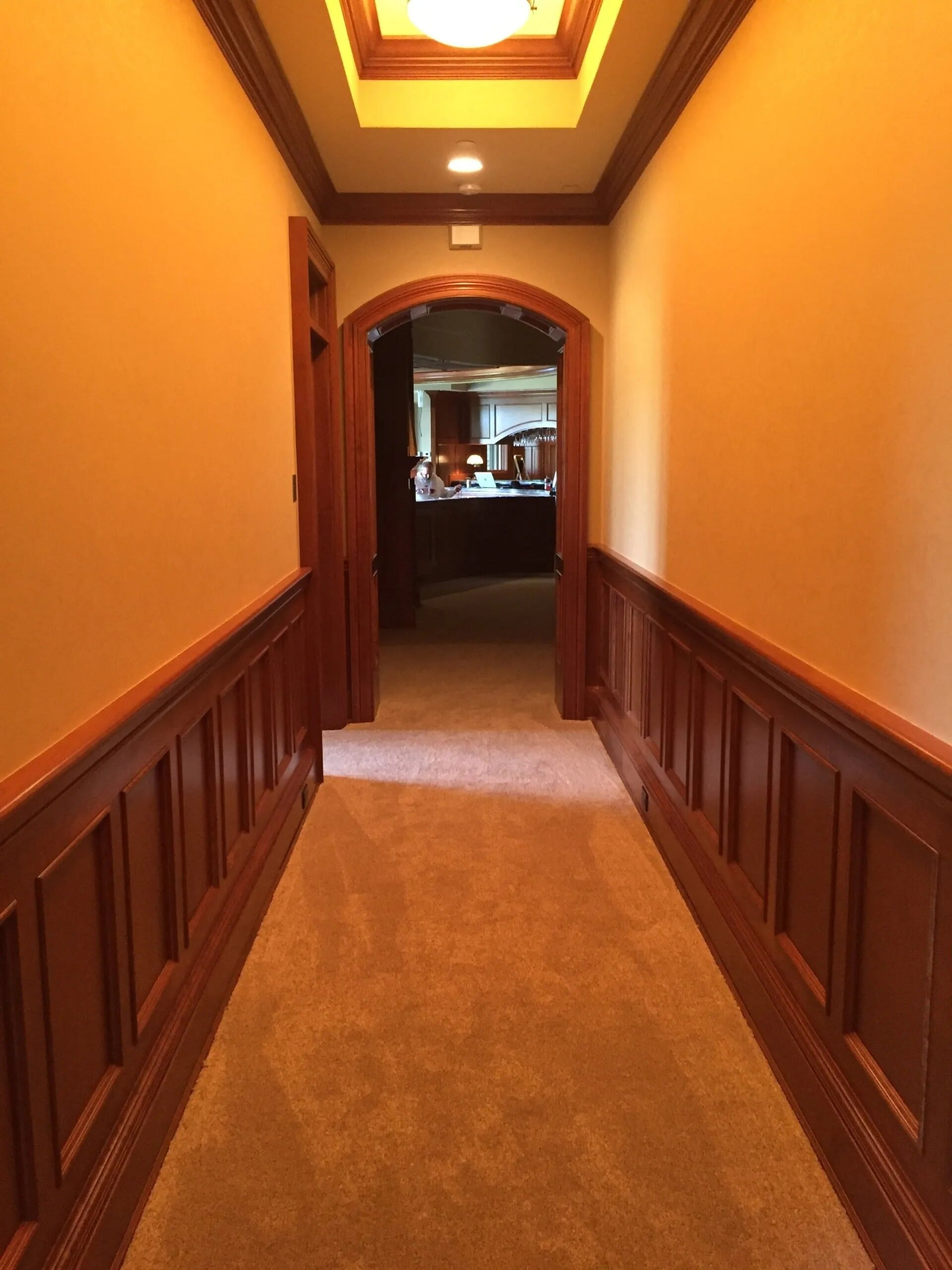 Carpeted hallway in Prior Lake, MN from Infinite Floors and More