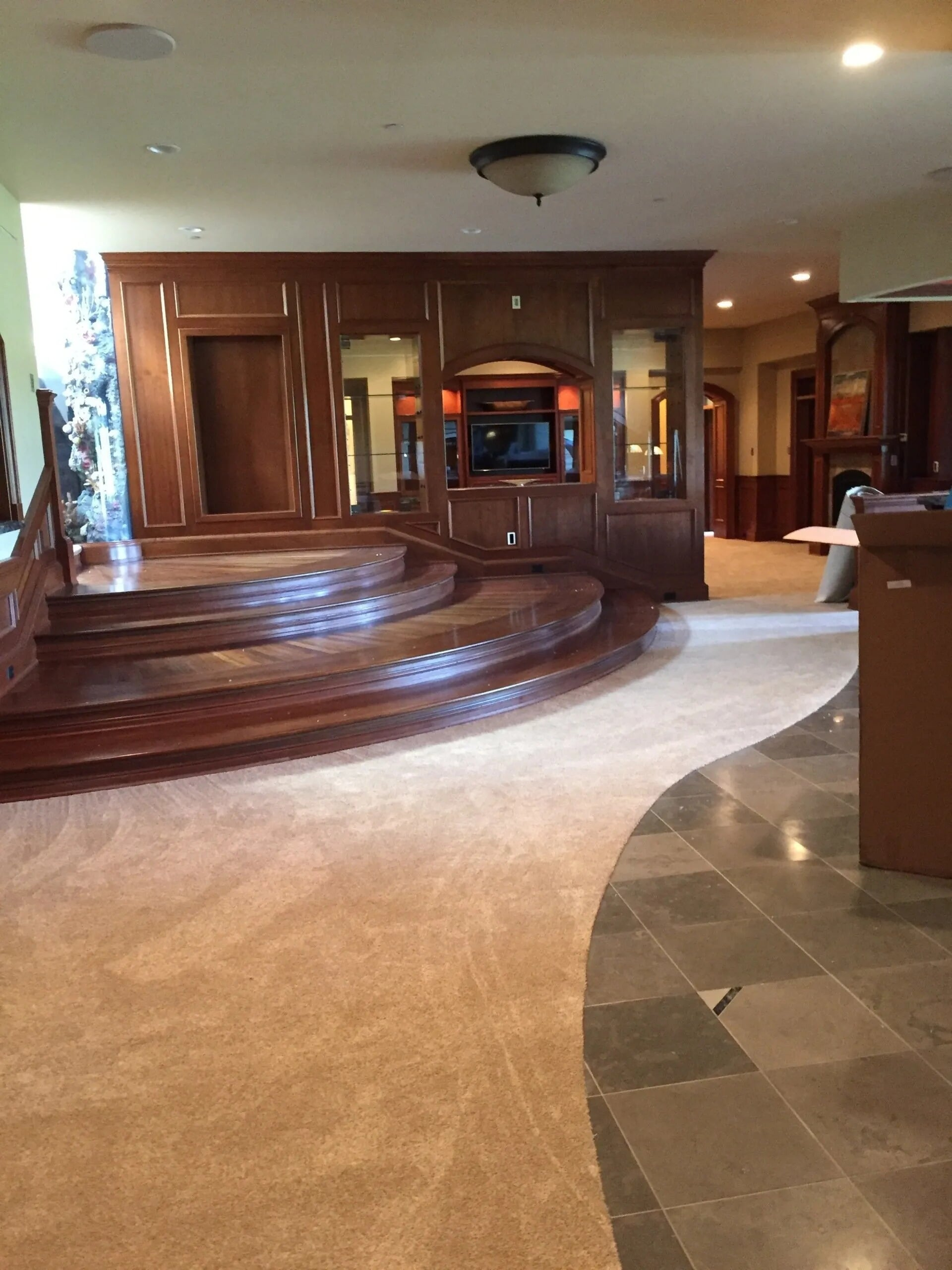 Custom multi surface floorcovering in Burnsville, MN from Infinite Floors and More
