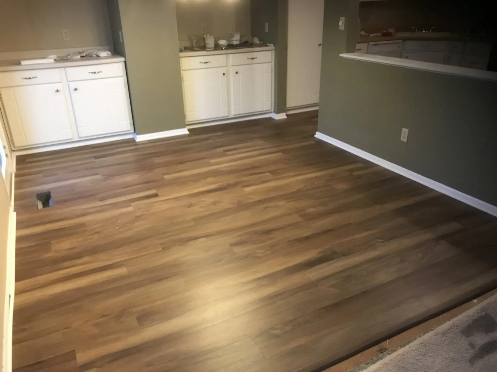 Medium tone hardwood in Lakeville, MN from Infinite Floors and More