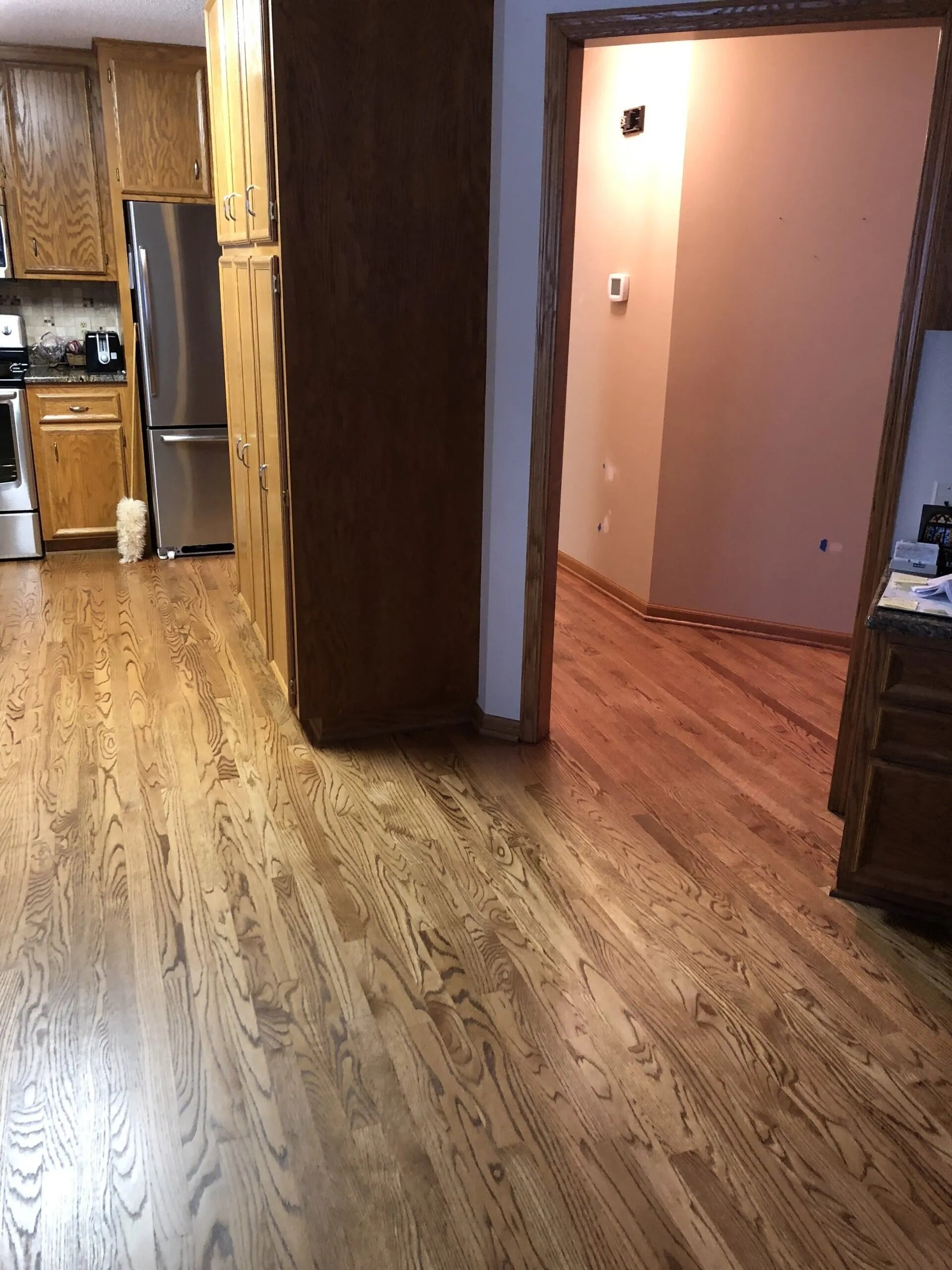 Hardwood through the whole house in Burnsville, MN from Infinite Floors and More