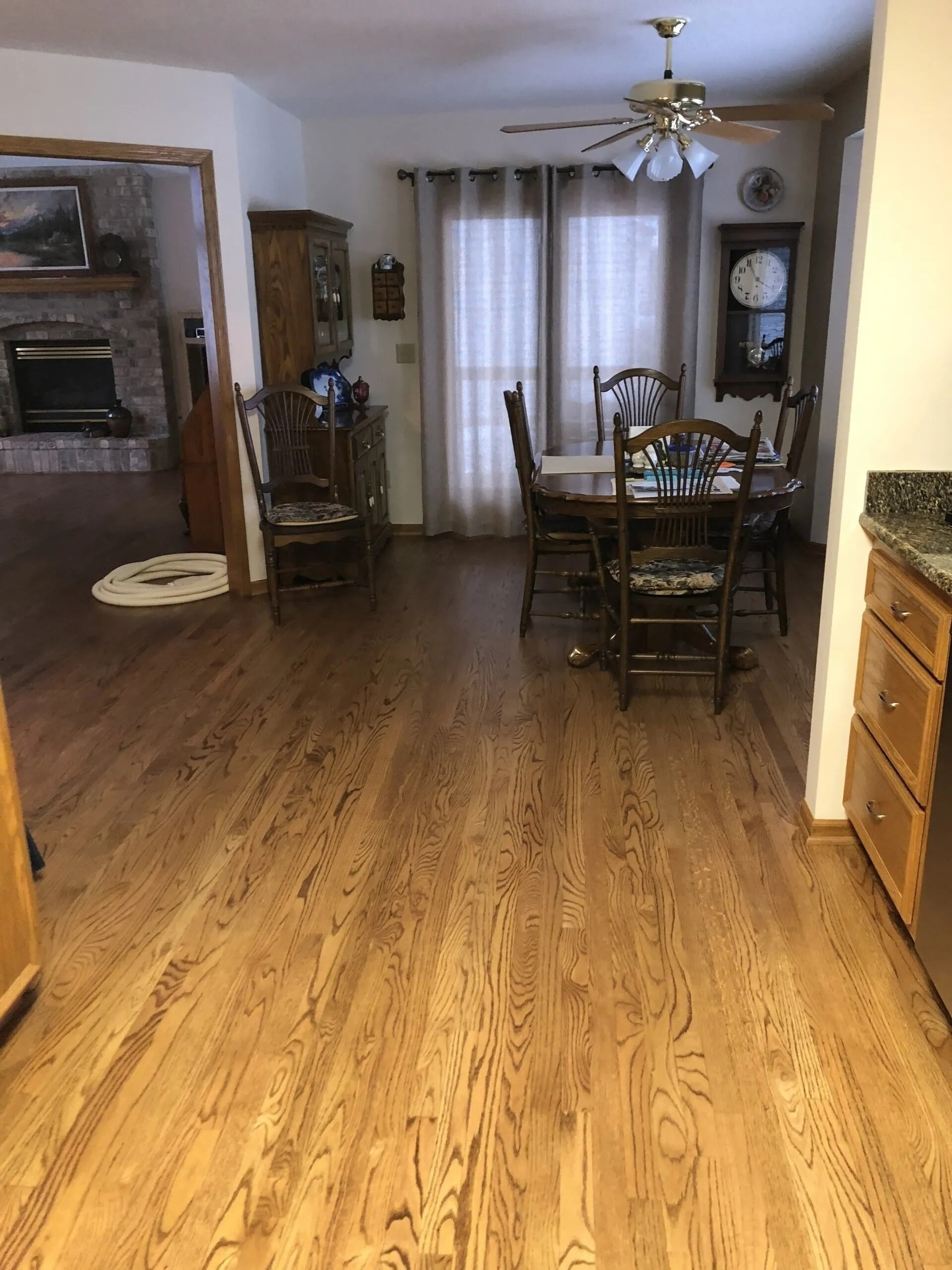 Beautiful grain hardwood in Savage, MN from Infinite Floors and More
