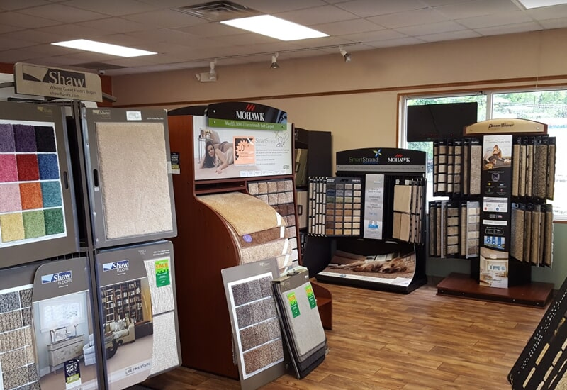 Olden Carpet and Flooring showroom in Bensalem, PA