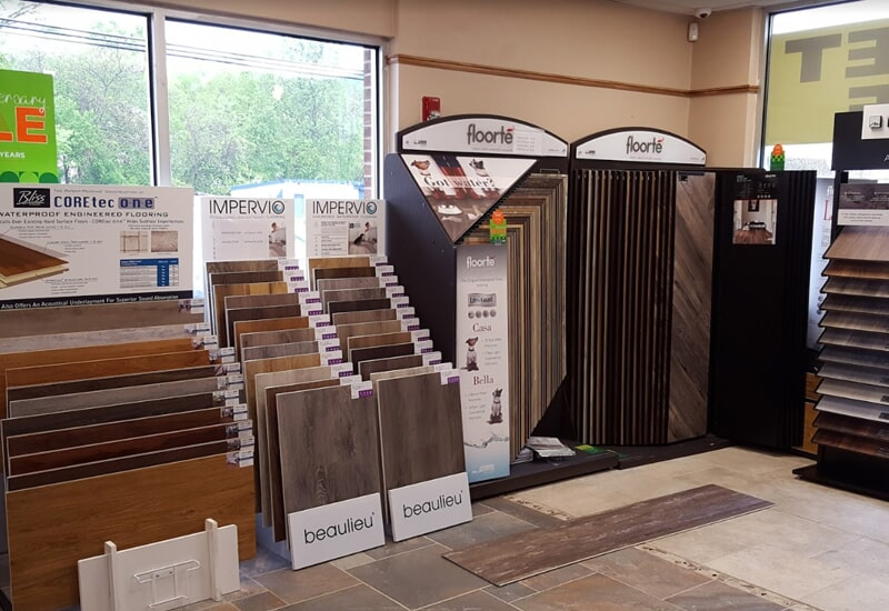 Olden Carpet and Flooring showroom in Levittown, PA