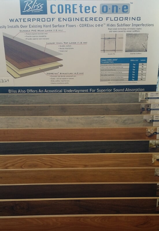 COREtec Flooring for your Doylestown, PA home from Olden Carpet and Flooring