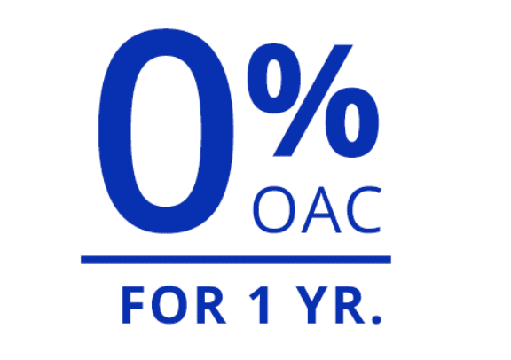 No interest if paid in full within 12 months OAC