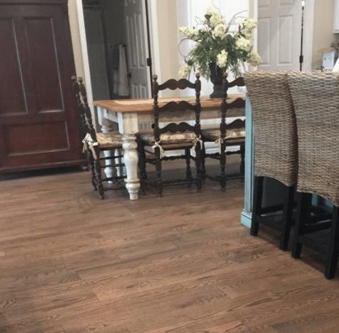 Luxury vinyl flooring from Suttles Flooring in Barnesville, GA