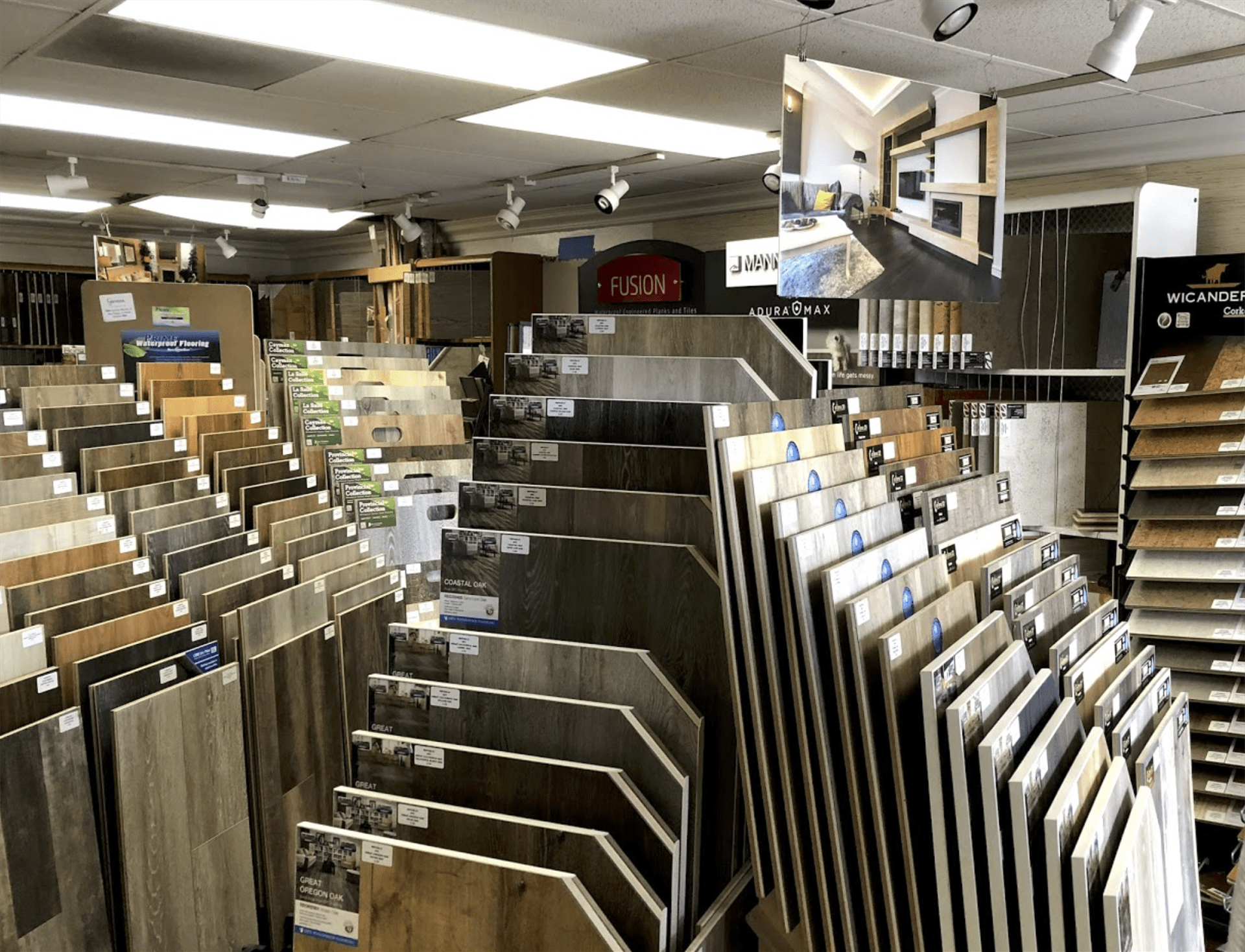 Luxury vinyl flooring for your Del Mar, CA home from Geneva Flooring