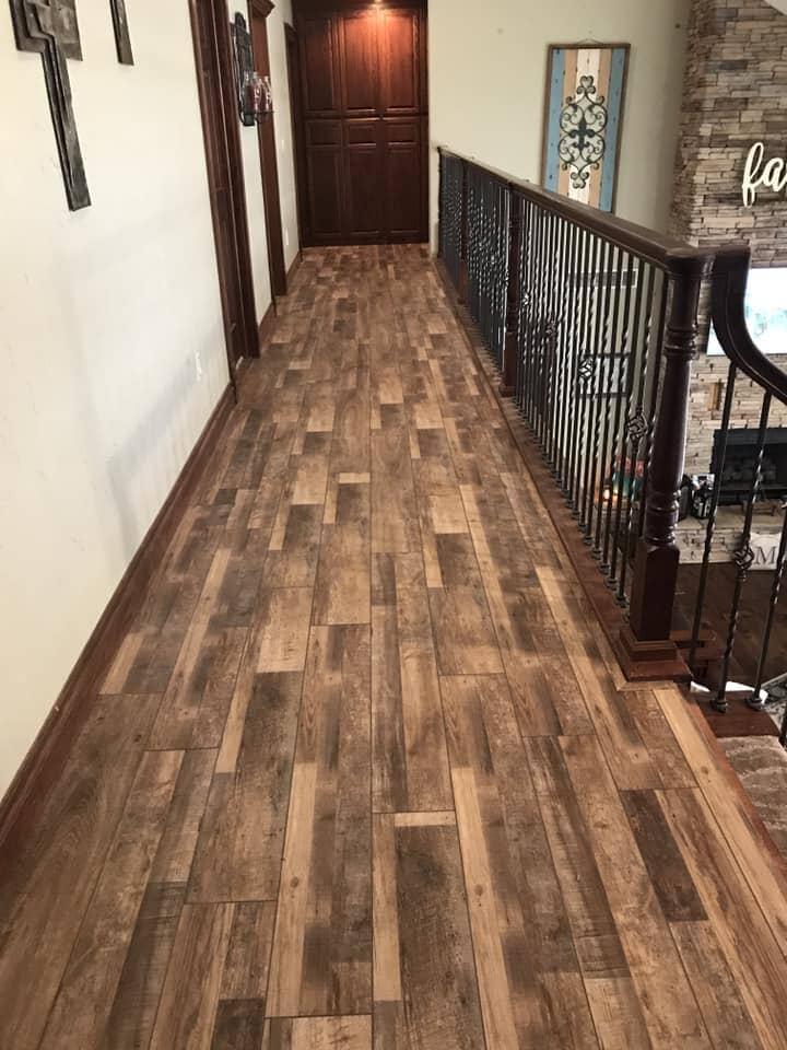 Modern hardwood flooring in Chickasha, OK from All American Home Center